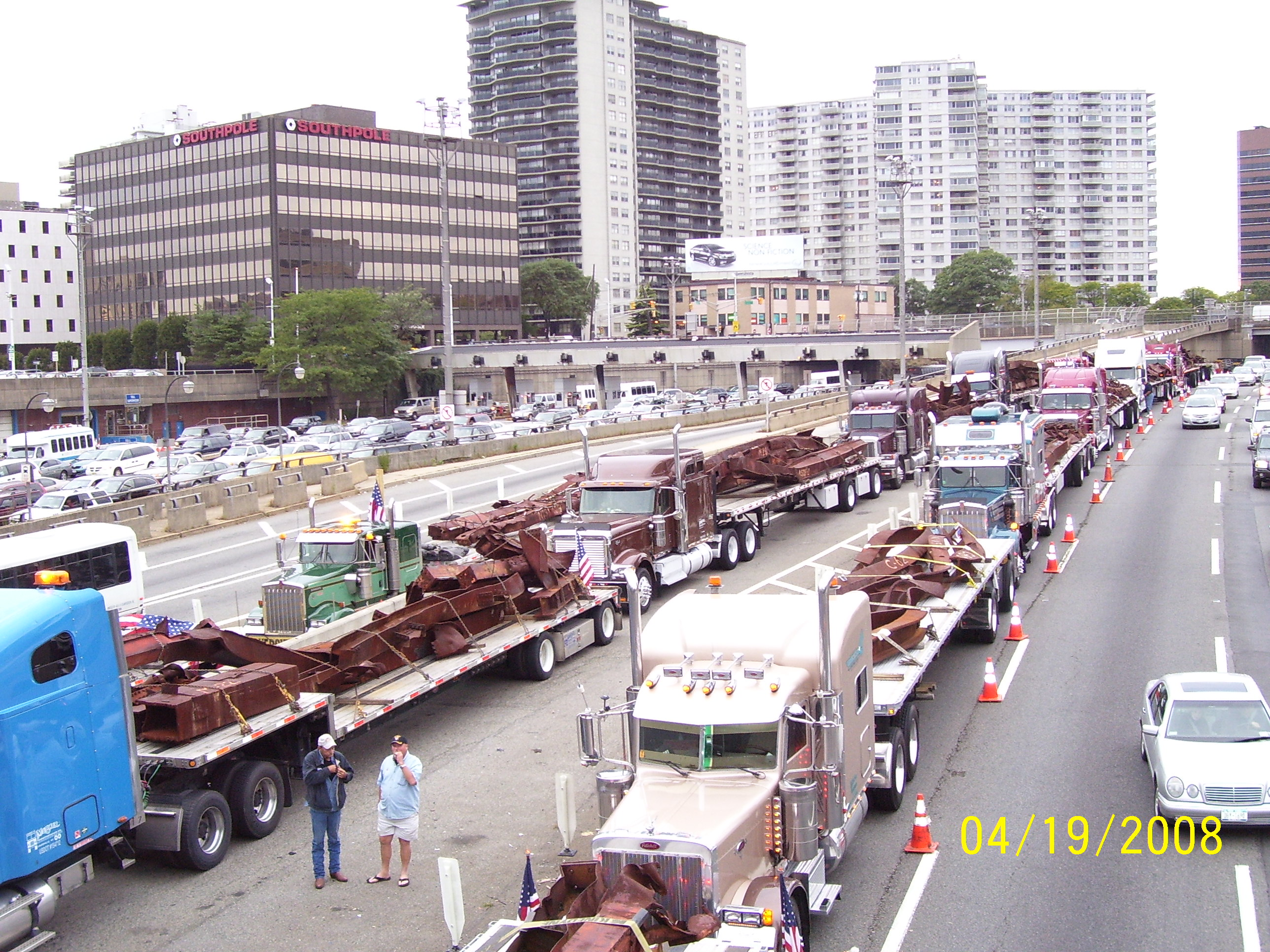 More pics of the world trade center move mercer for Mercer available loads