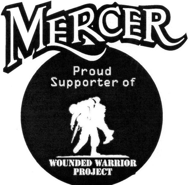Wounded warrior project truck decal mercer for Mercer available loads