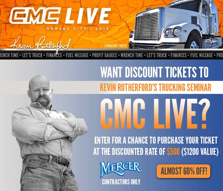 Cmc live mercer transportation co join the for Mercer available loads