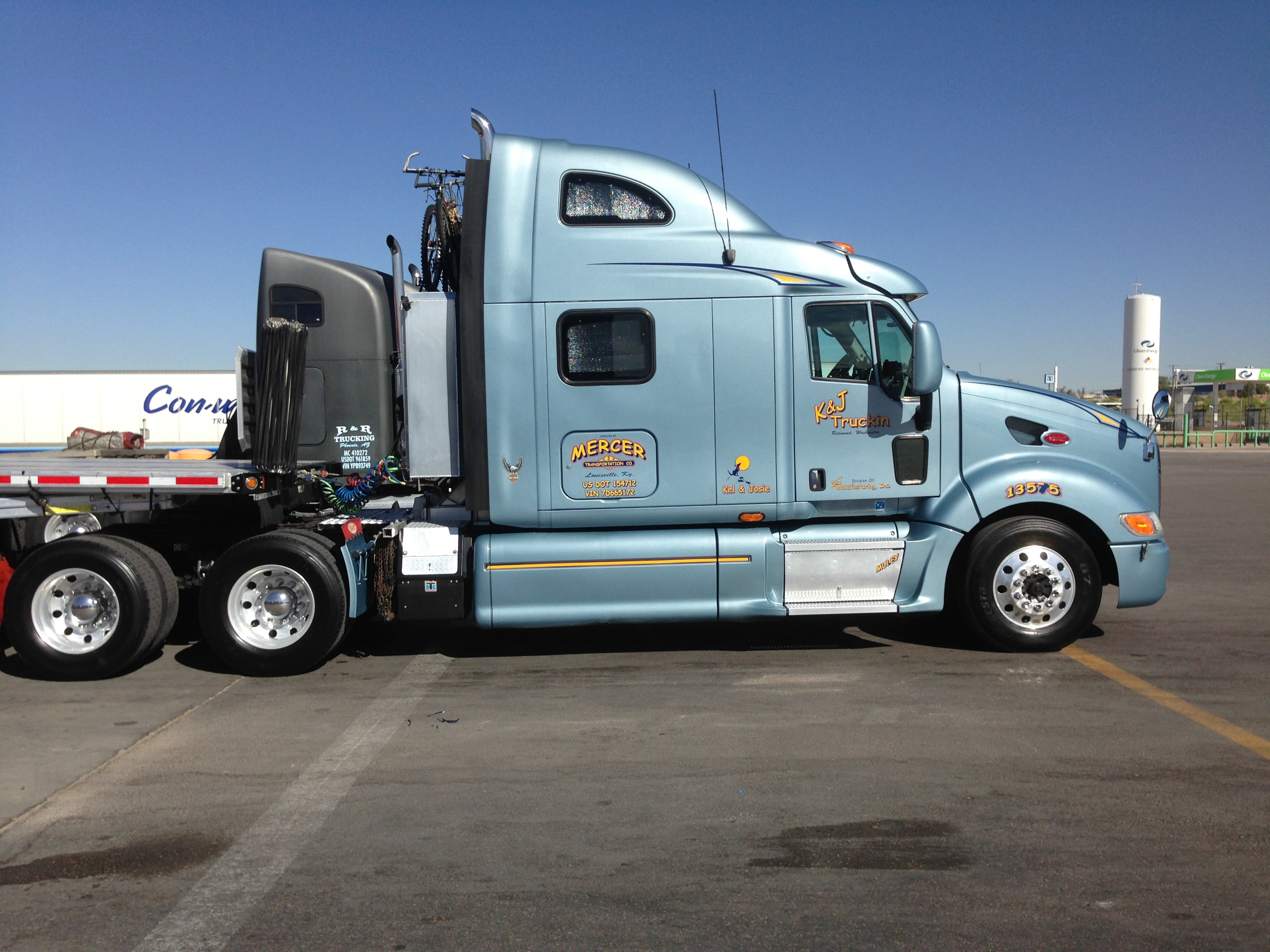 2007 peterbilt 387 for sale mercer transportation co for Mercer available loads