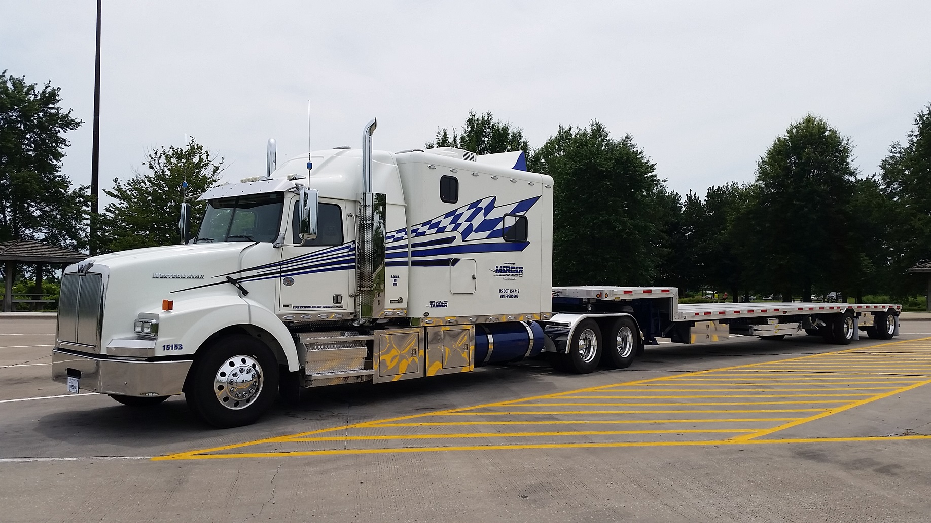 2015 western star for sale mercer transportation co for Mercer available loads