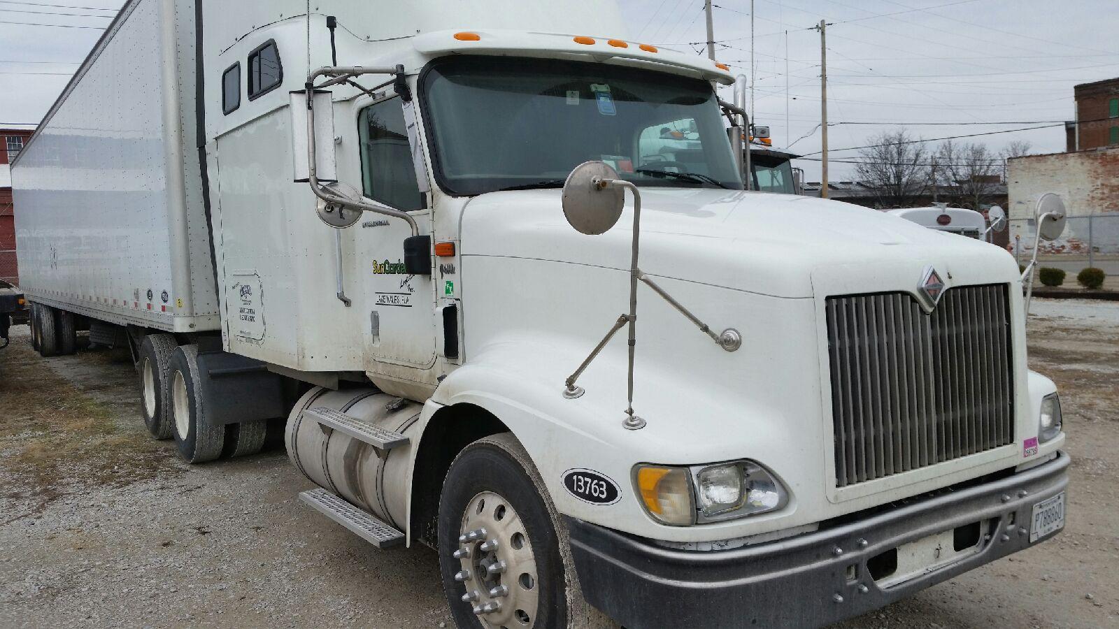 2007 international for sale mercer transportation co for Mercer available loads